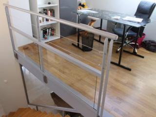 Fabrication et création de rampe contemporaine à Nîmes
