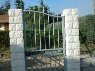 Fabrication de portail en fer forgé dans le Gard (30)