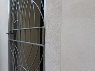 Porte et Grille de défense en fer à Bouillargues dans le Gard (30)
