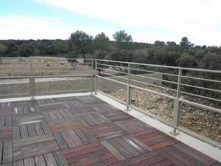 Fabrication d'une rampe de type tropézienne à Avignon (84)