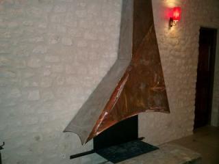 Création de cheminée en métal à Montpellier - Hérault (34)