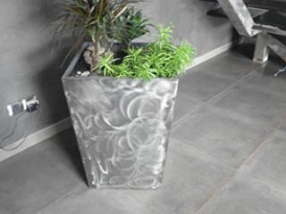 Fabrication de pot de fleurs en fer moderne - Nîmes (30)