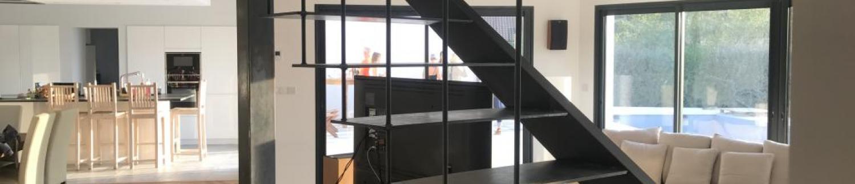 Création d'escalier sur-mesure : pourquoi choisir un escalier en fer ?
