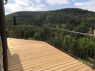 Création de rampe pour une maison de Saint Clément de Rivière (34)