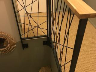 Création de garde corps escalier moderne à Montpellier