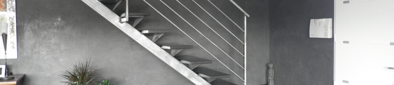 Création d'escalier design en fer à Nîmes, Montpellier et Avignon