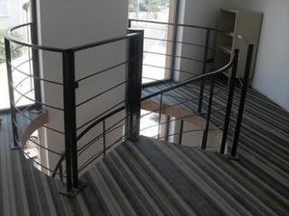 Escalier acier en colimaçon sur 2 niveaux à Montpellier - Hérault (34)