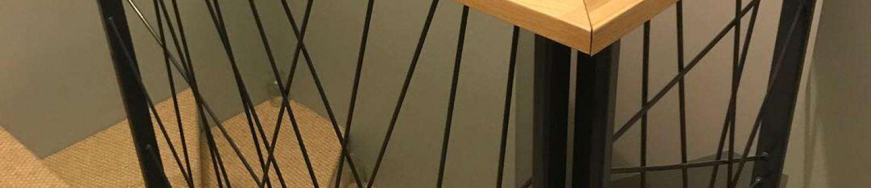 Création rampe en fer et main courante sur-mesure - Montpellier (34)