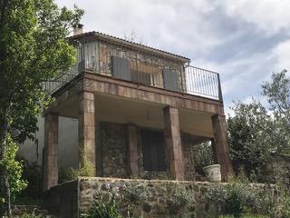 Fabrication sur mesure d'un garde corps pour une terrasse dans l'Hérault (34)