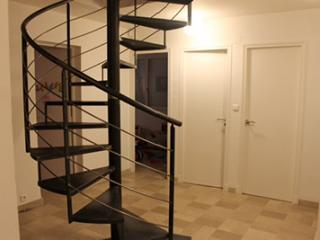 Fabrication d'un escalier métallique en colimaçon - Nîmes (30)