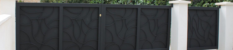Vos portails en fer, aluminium et acier fabriqués à Nîmes