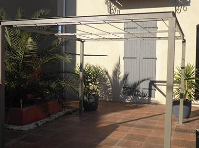 Abri terrasse fabrication abri terrasse n mes 30 manduel - Bache jardin castorama nimes ...