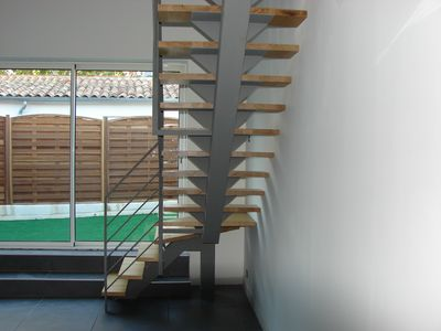 Escalier en fer colima on marche metallique fabrication - Escalier colimacon fer ...