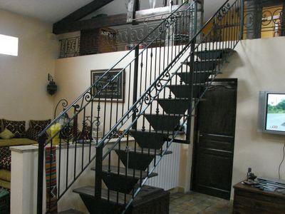 Escalier en fer forg vente escaliers sur mesure vaucluse 84 avignon 84 for Escalier en fer forge