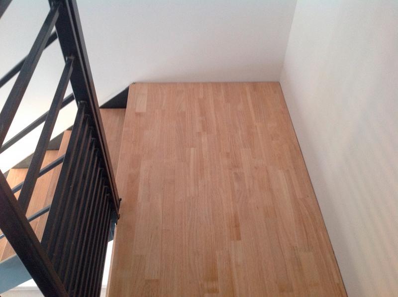 escalier m tallique quart tournant bas avec palier fabrication installation escalier. Black Bedroom Furniture Sets. Home Design Ideas