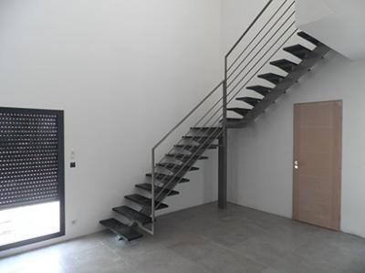 Grand Escalier quart tournant - Vente Escaliers sur mesure ...