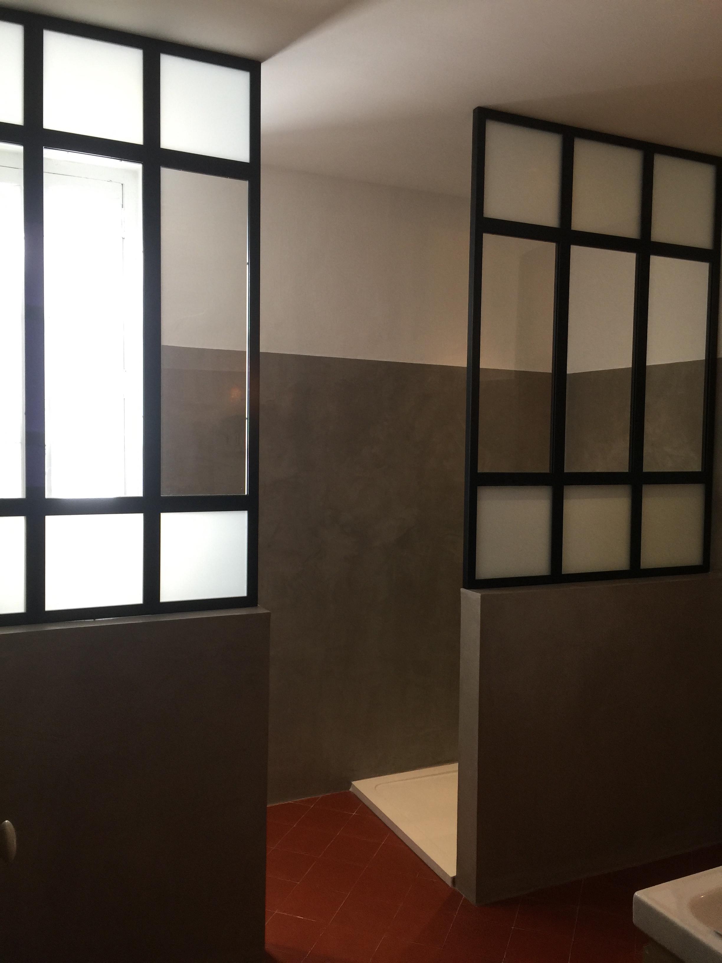 Verrière salle de bain Nimes - Vente Verrière sur mesure